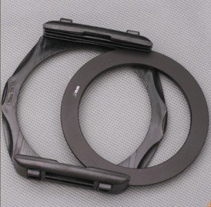 40.5 49 52 55 58 62 67 72 77 82 mm Adapter ring + Filter Holder for Cokin P series for can