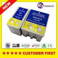 Compatível Para S020108 S020189 T051 T014 S020089 S020191 T052 Cartucho de Tinta Para Stylus Color 740 740i 760 800 850 850N etc.