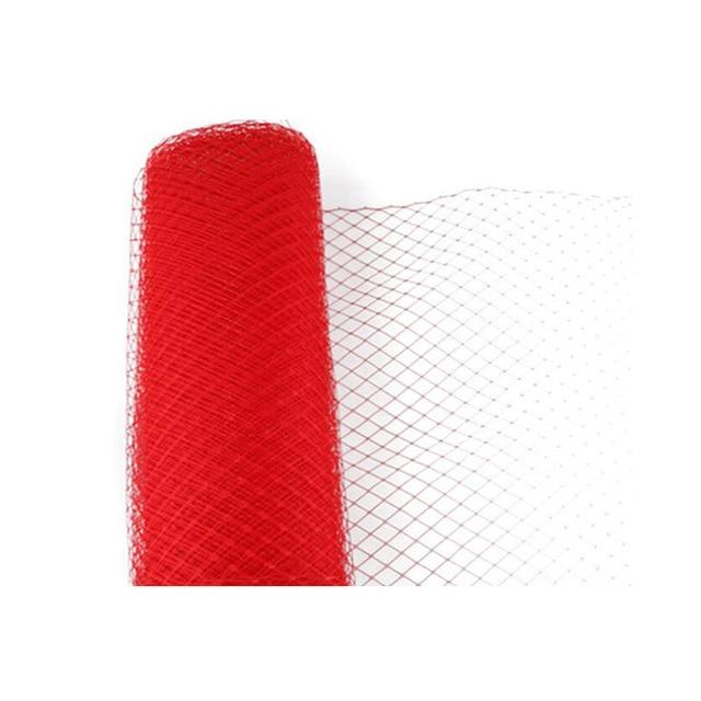 Chapeau de coupe en bricolage 25cm * 1m | Filet de menuiserie de mariage, voile de cage à oiseaux pour voilage de chapeaux