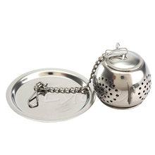 Novelty Spice Strainer Filter Herb Stainless Steel Loose font b Tea b font Leaf Infuser Ball