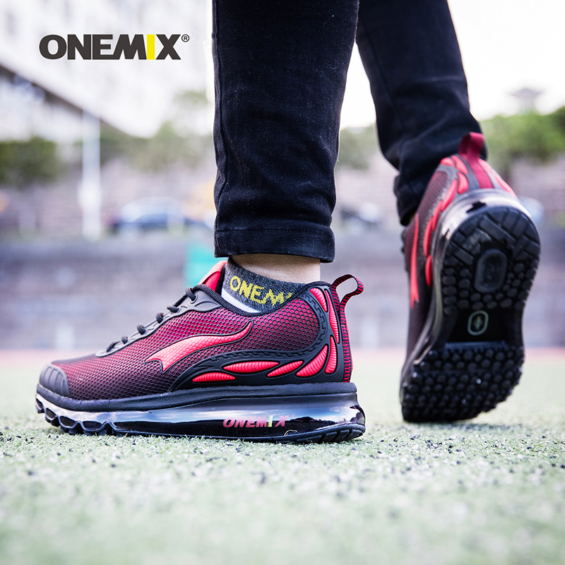 2019 Onemix Brand Men's Running Shoes Women Outdoor Breathable Sneakers For Men Sport Shoes Athletic Zapatillas Walking Shoes image