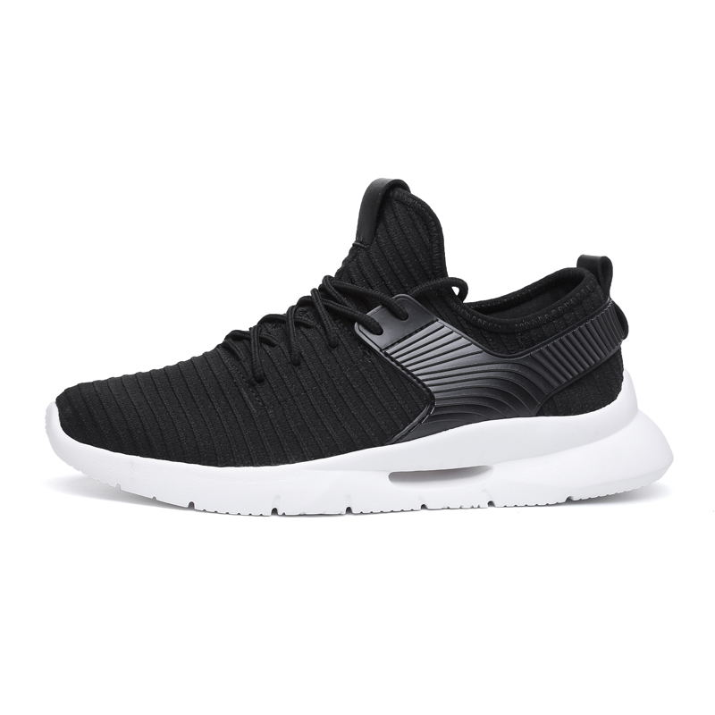 LAISUMK Breathable Casual Shoes Men Lace Up Comfortable Male Shoes Chaussures Homme Flat Men Shoes Lightweight Sneakers Men in Men 39 s Casual Shoes from Shoes