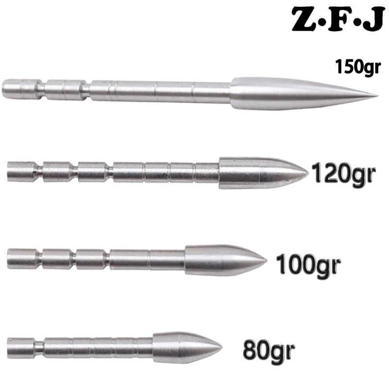 12 x Insert Stainless Steel Archery Arrow Target point Broadhead for 4.2mm Arrow