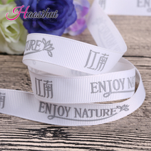 1-1/2(39mm) custom bridal shower ribbon and with names on it for a wedding grosgrain 100yards/lot