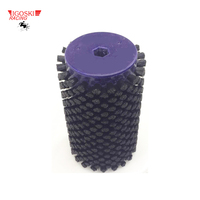 IGOSKI Nylon Roto Brush for Cross Country Ski Waxing Fits 10mm Hex Shaft Skiboard Snowboard