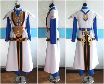 Game Anime Dragon Nest Uniform Cosplay Costume Party Custom-made Any Size