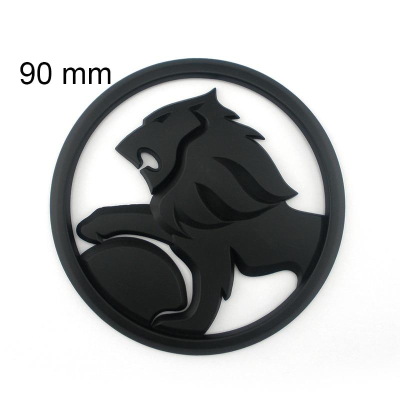 plastic ssv sign hsv badge emblem matte black lion flag commodore wagon clubsport gts senator
