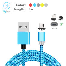 Magnetic Charger Micro USB Cable For Samsung S7 S6 Magnet Charge Cord For Oukitel C11 C12 Pro U11 Plus U17 U19 K5 J6 C4 C5 C8 C9(China)