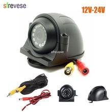 12 LED Side Car Rear Vista del CCD Che Inverte Macchina Fotografica di Backup Per Monitor di Bus Camion + 5 m Cavo 12 V -24 V