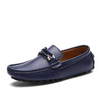 Handmade Mens Loafers Split Leather Men Casual Shoes Breathable Casual Mens Slip On Shoes Moccasins Shoe Plus Size 38 44