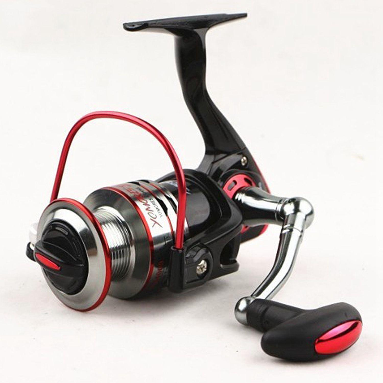 YUMOSHI Fishing Golden Reel Spinning Fishing Reel Fixed Spool Reel Coil Fish Fishing wheel 10+1BB