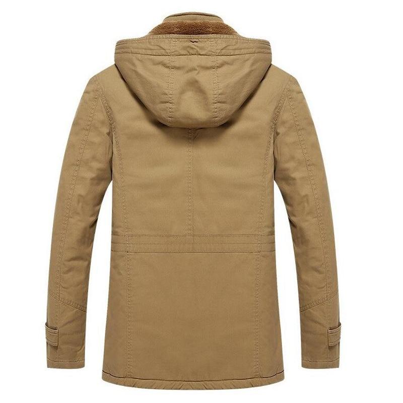Winter Jacke Männer Casual Dicke Samt Warmen Mantel herren Windschutz  Schnee Army Military Jacken Outwear Parkas Plus größe 4XL mäntel in Winter  Jacke ... 7e2c71404a