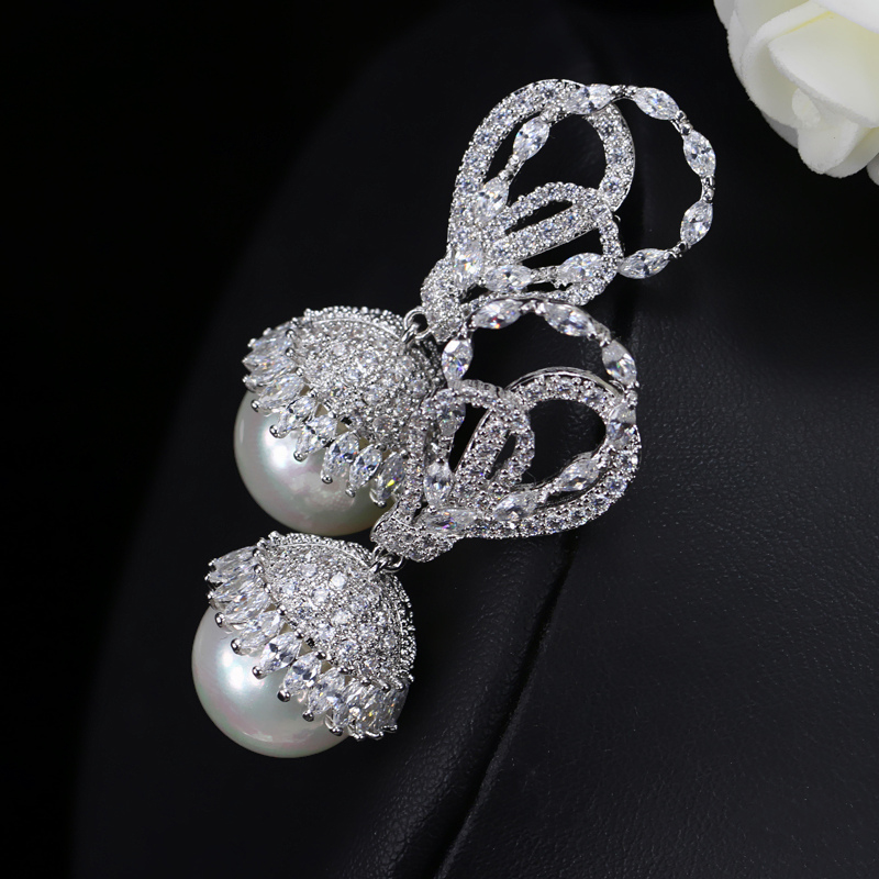 Pearl Drop Earrings2