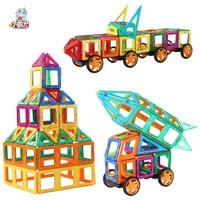 35/45/70/78pcs Magnetic Blocks Big Size Designer Construction Set Model & Building Toy Plastic Magnetic Blocks Educational Toys