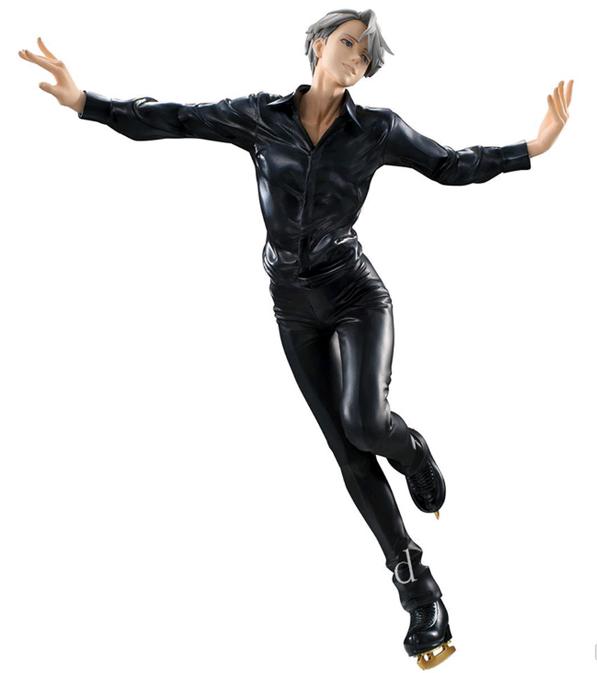 Yuri!!!on Ice Victor Nikiforov 21cm PVC Figure Figurine New in Box yuri on ice 3d stand model 10cm yuri katsuki victor action figure acrylic transparent collection ltx3