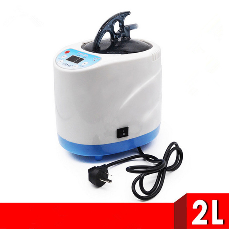 Smart Home Steam Generator Health Care 1000W Capacity 2L Intelligent Steamer Pot Spa for Steam Sauna Remote Control
