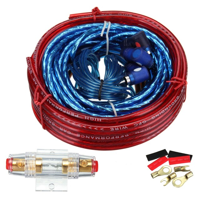 Terrific 1500W Car Amplifier Wire Wiring Kit 10Ga 60 Amp Car Audio Sub Amp Wiring Cloud Pimpapsuggs Outletorg