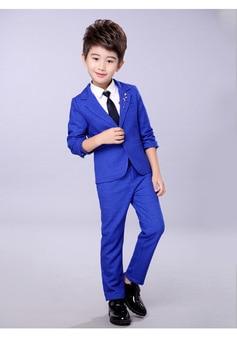 2018 Formal boys suits for weddings kids Blazer Suit for boy costume enfant garcon mariage jogging garcon blazer boys tuxedo