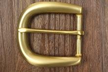 simple Pure copper Brass belt Buckles