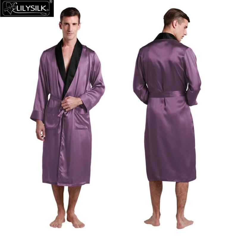 1000-violet-22-momme-black-collar-silk-dressing-gown