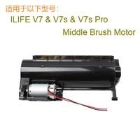 1 pcs brush motor Original v7s Middle Brush Motor v7s Robot Vacuum Cleaner Parts ilife v7 v7s v7s pro