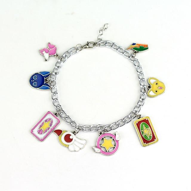 cdf302bf2164 Hanchang joyería Accesorios moda Sailor Moon pulsera del encanto kawaii  Colgantes mujeres Niñas Cosplay brazalete regalo