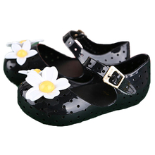 Baby Shoes Baby Girl Mini Cute Sandals Children Beach Sandal Flower Jelly Sweet Sandalias Baby Moccasins