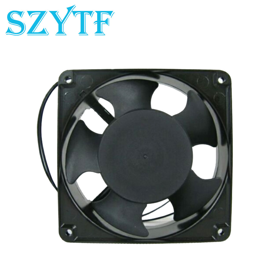 SZYTF  Free Shipping KA1238HA2SAT AC 220V-240V 0.12/0.11A 2-pin 120x120x38mm Server Square Cooling fan free shipping for sunon kde2406phs2 dc 24v 1 9w 2 wire 2 pin connector 60x60x15mm server square cooling fan