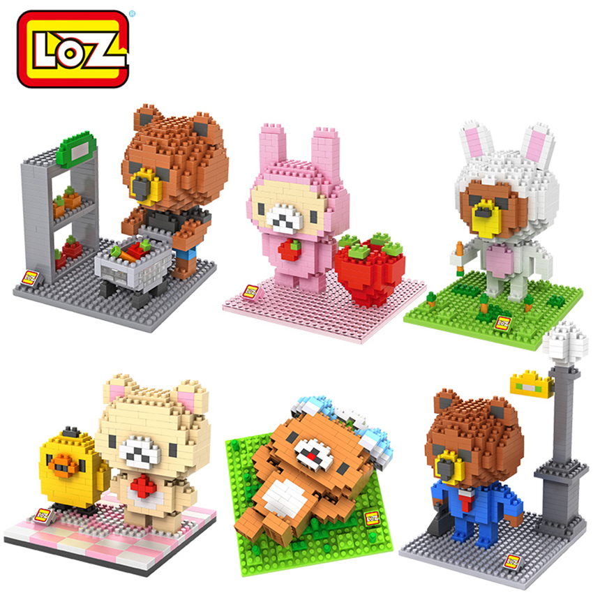 Loz Model Building Toy Creator Mini Diamond Blocks Movie Cartoon Characters Children's Favorite Gift Toys DIY Iblock Fun Mermaid 2015 new gift smae as loz building blocks small animal minion mario transformation minifigures cartoon characters 3d bricks toys