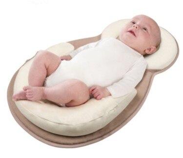 Neugeborenen Baby Schlaf Protector Kissen Infant Schlaf Stellungs Matratze Anti Rolle Bett Kissen Neugeborenen Posiert Matratze U Bett Pad