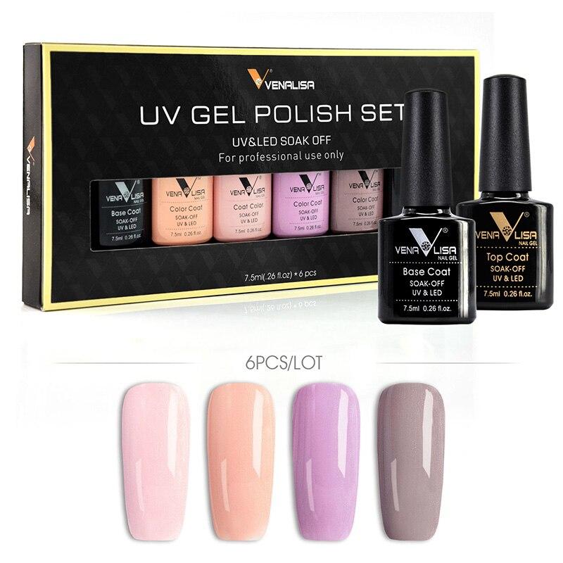#61508 Venalisa 2019 offre spéciale 7.5 ML Gel UV Gel pour les ongles vernis à ongles cosmétiques Art des ongles manucure ongles Gel vernis vernis à ongles