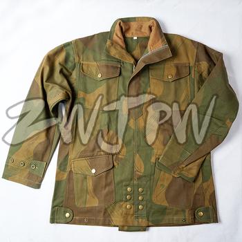 WW2 brytyjski żołnierz armii brytyjski pierwszy wzór spadochroniarzy DENISON CAMO SMOCK tanie i dobre opinie zwjpw Camouflage Poncho Tent Cloth