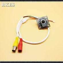 New 12pcs/lot HD 2.0 Maximal Pixels 1080P Indoor Mini AHD Camera module with BNC Cable and 3.7 mm lens