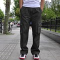 New Arrival Fashion Brand Mens Cargo Baggy Hip-Hop Pocket Loose Casual Overalls Trouser Work Pant Big Size l xl 2xl 3xl 4xl 6xl