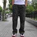 Nueva Llegada de La Marca de Moda Para Hombre Cargo Baggy Hip-Hop Bolsillo Flojo Ocasional trajes de Pantalón Pantalón de Trabajo de Gran Tamaño l xl 2xl 3xl 4xl 6xl