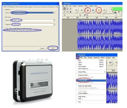 лента к пк супер кассеты в mp3 конвертер с USB видел музыка в игрока