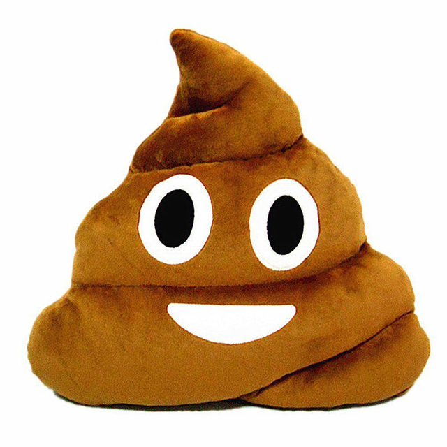 New Creative Cushion Emoji Pillow Gift Cute Shits Poop Toy Doll Christmas Present Funny Pillow Cover #233619