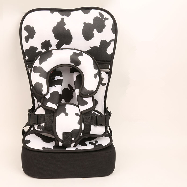1 Piece Milk Cow Baby Portable Car Seat Cushion Child Safety Kid Simple Dining Chair