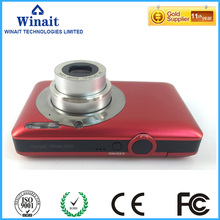 free shipping 16mp digital optical camera with 4x digital zoom camera with 16g card and extra battery 5x optical zoom camera