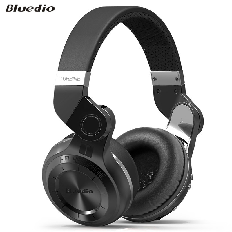 ФОТО Original Bluedio T2 Foldable Over-ear Bluetooth Headphones BT 4.1 Wireless Bluetooth Headset Earphones for Smartphone Tablet PC