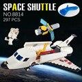 Transbordador espacial caliente satélite astronauta de bloques de construcción ladrillos compatibles legoeinglys. ciudad diy juguetes educativos para niños de regalos