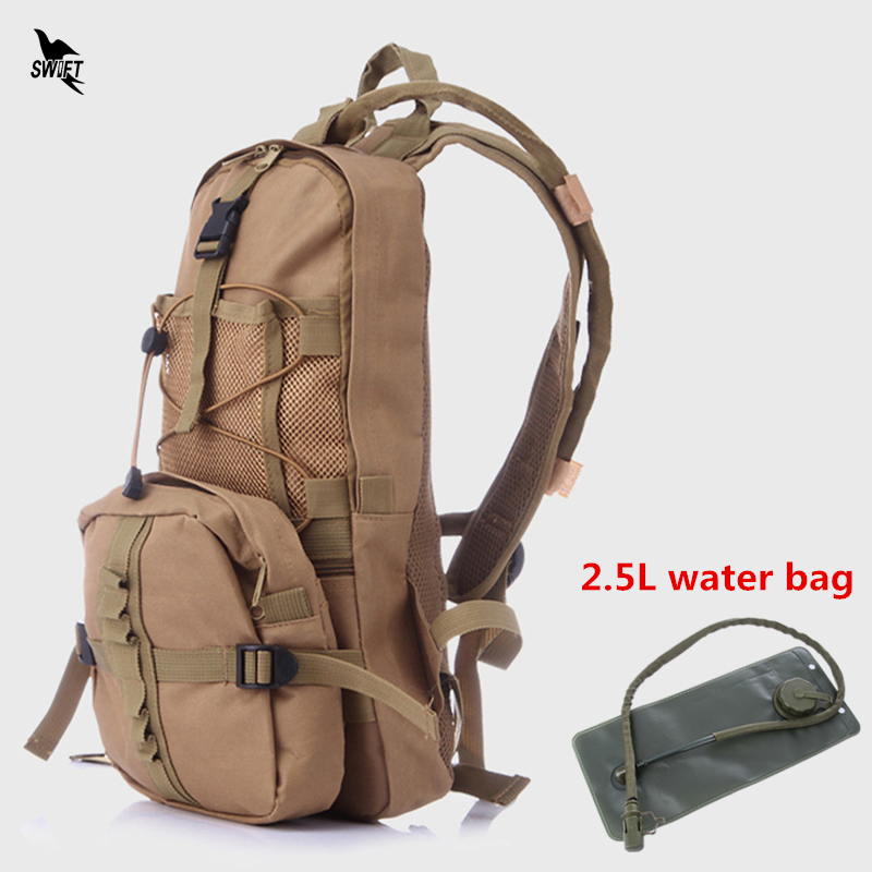 Military 8L Outdoor Sports Water Bag Waterproof Cycling Bicycle Bike Backpack Men Women Climbing Camping Hiking Hydration Pouch brand creeper 30l professional cycling backpack waterproof cycling bag for bike travel bag hike camping bag backpack rucksacks