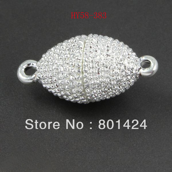 5 pieces silver plated magnetic clasp for making jewelry 58-383 necklace clasp bracelet clasp stylish five flowers silver plated necklace page 5