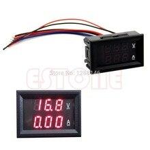 Nice DC 100V 10A Voltmeter Ammeter Red LED Panel Amp Dual Digital Volt Meter Gauge
