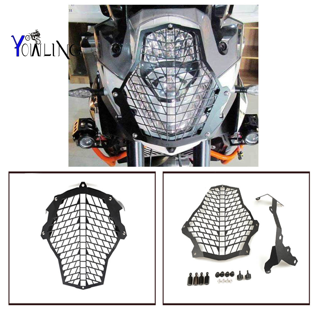 Motorcycle Accessories Motorcycle Headlight Protector cover grill for 1190 Adventure/1190R 1290 Super Adventure