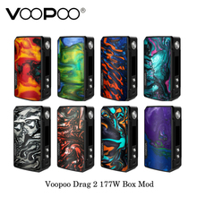 Original Voopoo Drag 2 177 watt TC Box Mod GEN. FIT Chip Angetrieben Durch Dual 18650 Batterie Vape Verdampfer Kit VS DRAG 157 watt aegis legende(China)