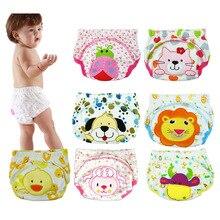 3pcs/lot Diapers baby diaper children's underwear reusable nappies training pants panties for toilet training child b-qdkbl014-3