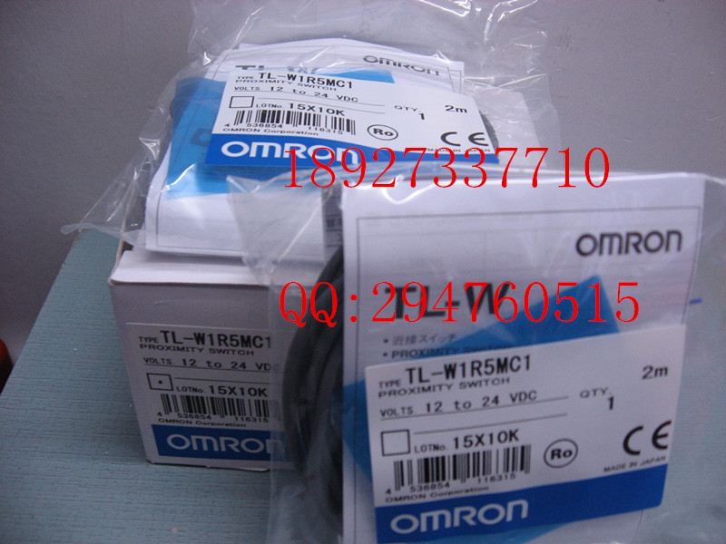 [ZOB] 100% brand new original authentic OMRON Omron proximity switch TL-W1R5MC1 2M [zob] 100% brand new original authentic omron omron photoelectric switch e2s q23 1m 2pcs lot