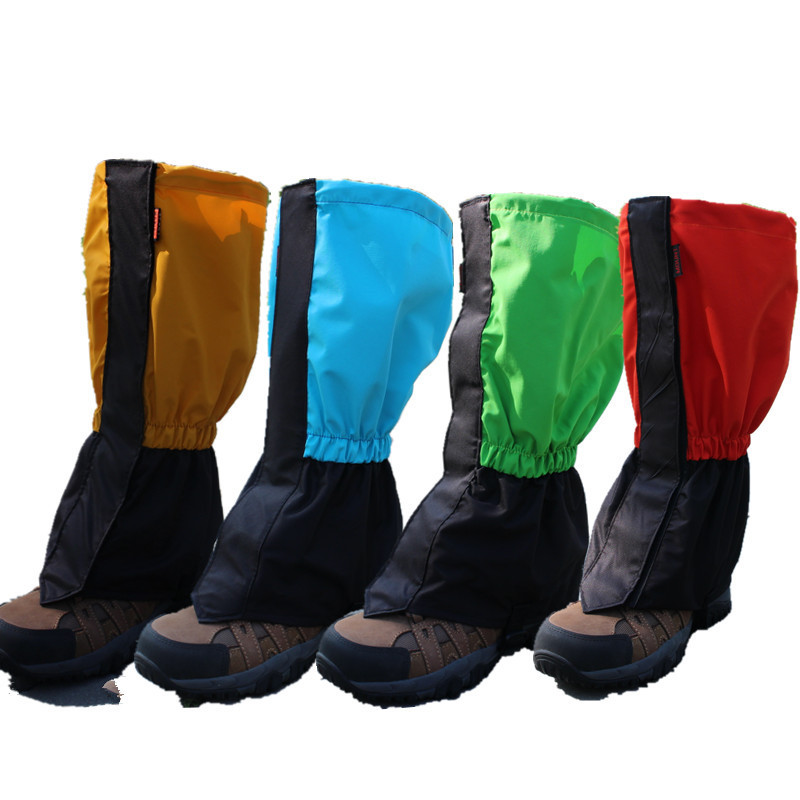1 Pair Winter Thicken Waterproof Sport Shoe Cover Outdoor Meadows Skiing Snow Boots Shoes Covers Dirt proof Hiking Leg Gaiters