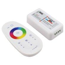 Screen LED RGB/RGBW Controller 2,4G Wireless DC12 24V Touch RF Fernbedienung Für RGB/RGBW LED streifen